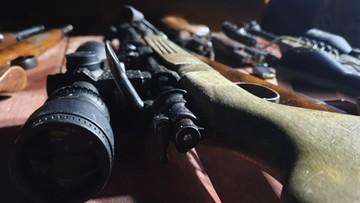 Przejęta nielegalna broń, 28 zatrzymanych. Akcja CBŚP