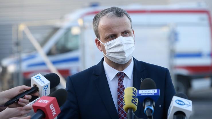 Zabrakło tlenu w szpitalu tymczasowym. Wniosek do prokuratury