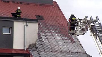 Pożar szkoły podstawowej w Świerznie. Trwa akcja gaśnicza