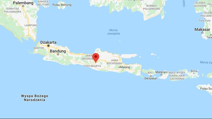 Silne trzęsienie ziemi u wybrzeży wyspy Jawa