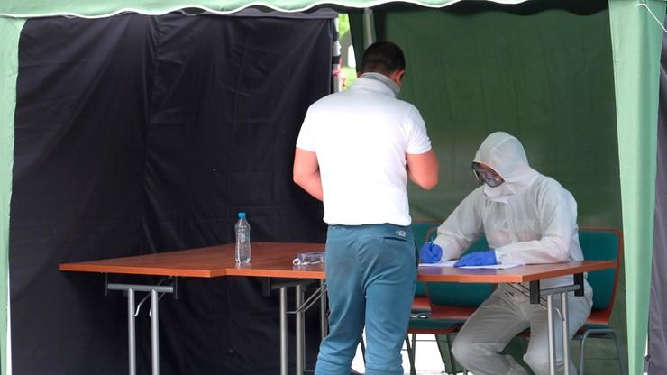 Największa dobowa liczba zakażeń od początku epidemii
