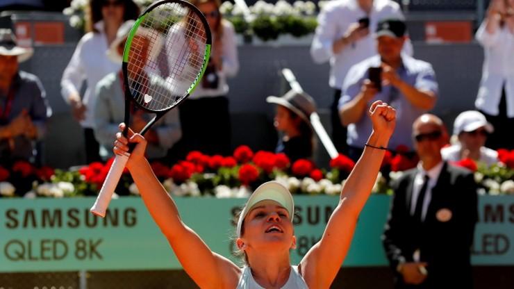 WTA w Madrycie: Halep i Bertens w finale