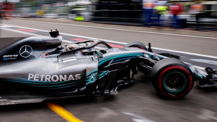 Formuła 1: Hamilton zwycięża w deszczowych kwalifikacjach do GP Belgii