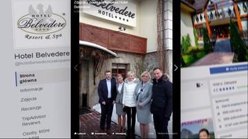 ABW i prokuratura badają sprawę noclegów prezydenta w hotelu Belvedere w Zakopanem