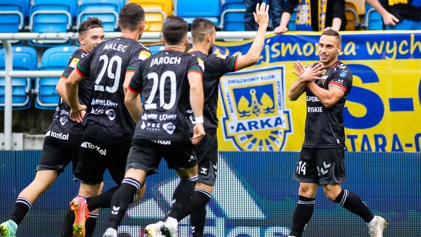 GKS Tychy podtrzymał serię zwycięstw. Arka Gdynia z porażką na własnym stadionie