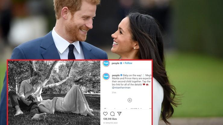 Książę Harry i księżna Meghan spodziewają się drugiego dziecka