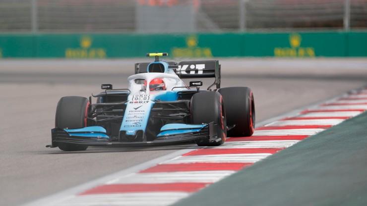 GP Rosji: Kubica ostatni, Verstappen najszybszy na drugim treningu