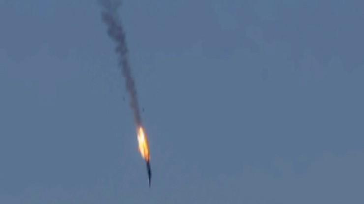 """Reuters: Turkmeni twierdzą, że zabili rosyjskich pilotów. """"Zastrzeliliśmy ich, gdy spadali"""""""