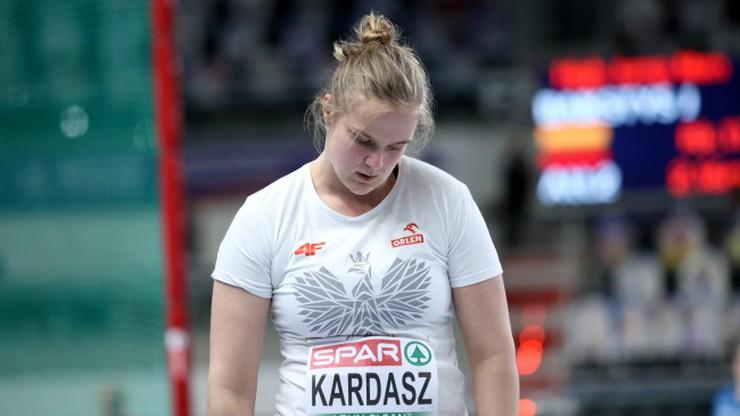 HME Toruń 2021: Klaudia Kardasz poza finałem pchnięcia kulą