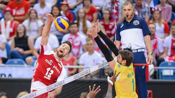 Liga Narodów siatkarzy 2021: Polska - Brazylia. Transmisja i stream online