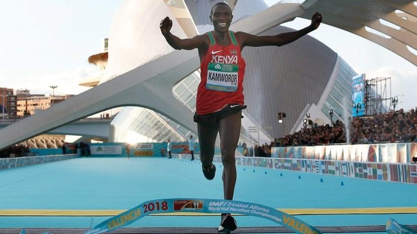 Tokio 2020: Faworyt biegu na 10 000 m Geoffrey Kamworor nie leci na igrzyska z powodu kontuzji