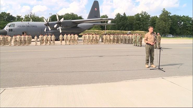 We Wrocławiu wylądował samolot z żołnierzami wracającymi z ostatniej zmiany PKW Afganistan