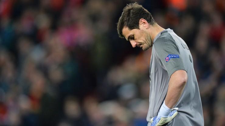 """Hiszpański bramkarz Iker Casillas miał atak serca. """"Było dużo strachu"""""""