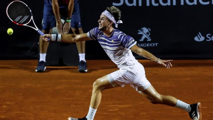 ATP w Rio de Janeiro: Thiem przegrał w ćwierćfinale z kwalifikantem
