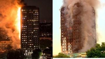 Tragiczny bilans pożaru wieżowca w Londynie. Rośnie liczba ofiar