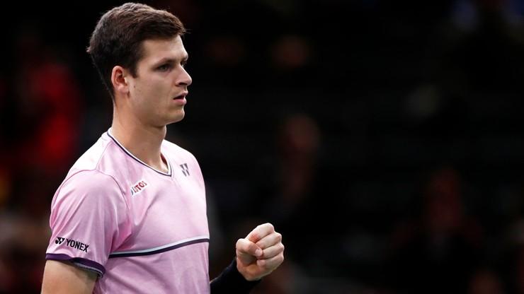 ATP w Paryżu: Hurkacz awansował do 1/8 finału w deblu