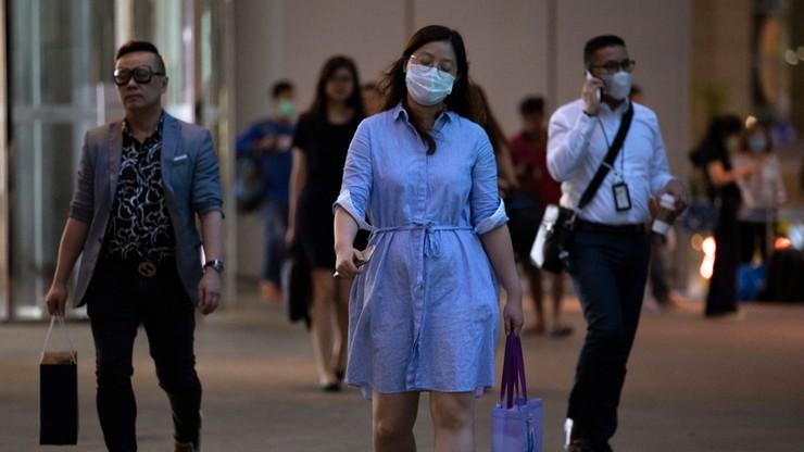 Skokowy wzrost zakażeń koronawirusem w Singapurze