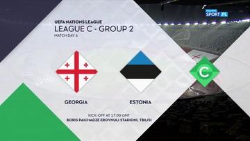 Gruzja – Estonia 0:0. Skrót meczu