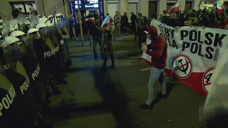 Marsz we Wrocławiu. Policja publikuje wizerunki podejrzewanych o łamanie prawa