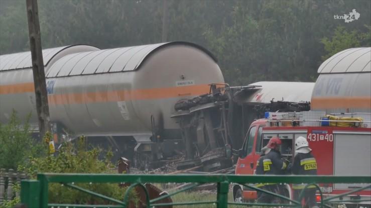Świętokrzyskie: rok więzienia w zawieszeniu dla kierowcy ciężarówki, która zderzyła się z pociągiem