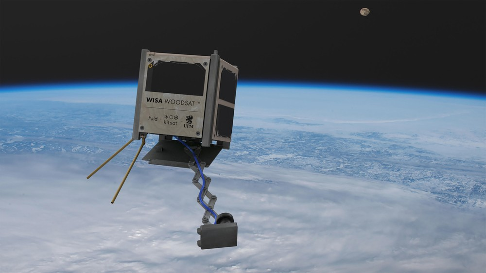 Pierwszy drewniany satelita gotowy do lotu w kosmos elektryczną rakietą