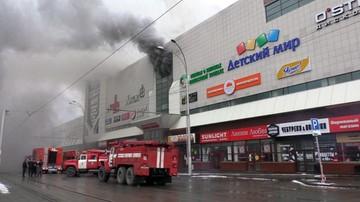 Rośnie tragiczny bilans pożaru w centrum handlowym w Rosji. Ponad 60 ofiar