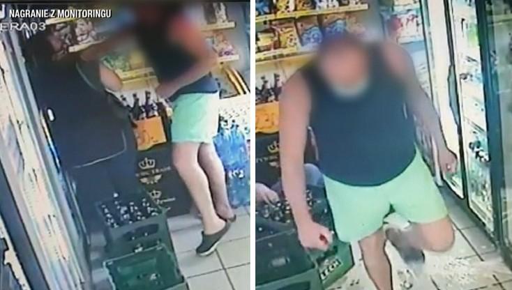 Bydgoszcz: jednym ciosem znokautował ekspedientkę w sklepie. Poszło o brak maseczki