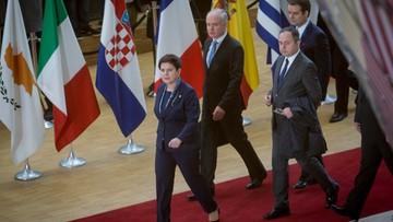"""""""Dziecinne podejście"""". Unijni dyplomaci w ostrej dyskusji z premier Szydło"""