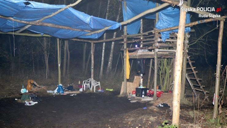 Ukryta nielegalna plenerowa dyskoteka w Rudzie Śląskiej. Wkroczyła policja