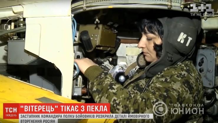 Słynna czołgistka z Donbasu uciekła, bo zakochała się w ukraińskim oficerze. Zabrała tajne dokumenty
