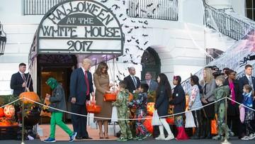 Para prezydencka zaprosiła dzieci na Halloween do Białego Domu