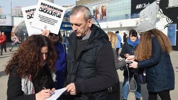 ZNP zebrało blisko 170 tys. podpisów pod wnioskiem ws. referendum edukacyjnego