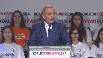 Schetyna: PiS składa puste obietnice, że będzie walczył o polskie kopalnie i węgiel