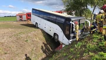 Wypadek autokaru. Ponad 30 dzieci w szpitalu