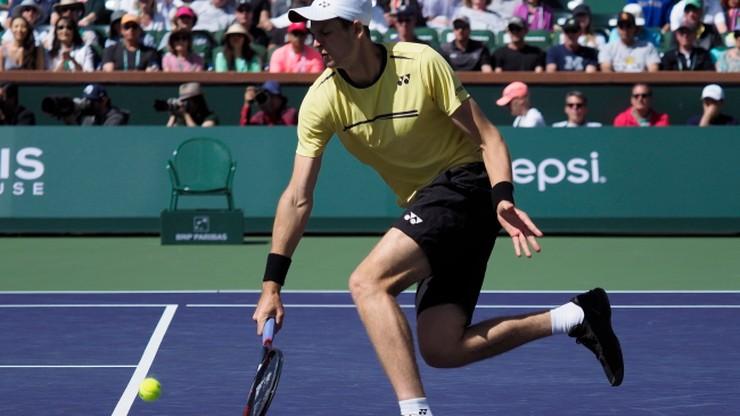 ATP w Indian Wells: Kiedy obejrzeć powtórkę meczu Hurkacza z Federerem?