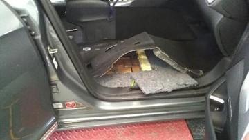 117 kg haszyszu w samochodzie 41-letniego Rosjanina. Podlascy pogranicznicy zatrzymali przemyt