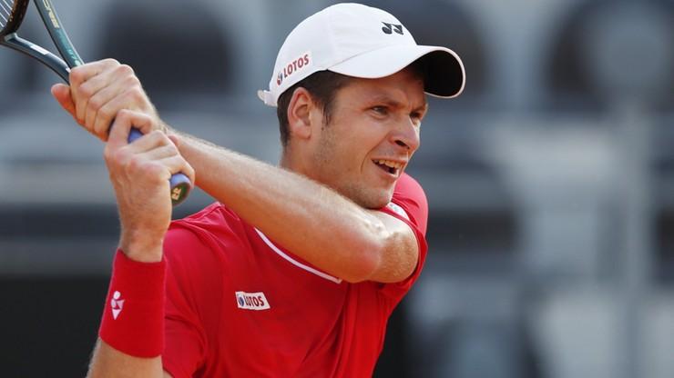 ATP w Rzymie: Ćwierćfinalista US Open rywalem Huberta Hurkacza