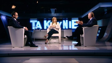 """Sawicki przekonany, że rząd chce, by Polska opuściła Unię. Program """"Tak czy Nie"""""""