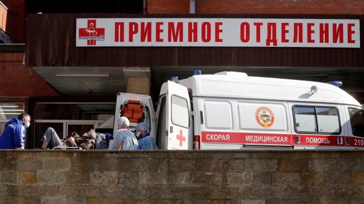 Rosja wyprzedziła Chiny pod względem liczby zakażeń koronawirusem