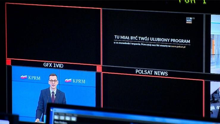 """Świat o proteście mediów. """"News blackout"""""""