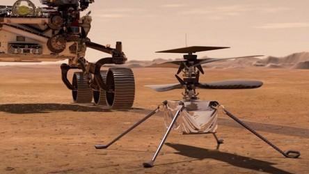 """Amerykański łazik wykona przełomowy eksperyment. """"Spróbuje zmienić Marsa w Ziemię"""""""