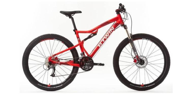 Ten rower może być niebezpieczny. Sprzęt należy przywieźć do Decathlonu