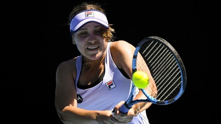 Australian Open: Broniąca tytułu Sofia Kenin wyeliminowana w II rundzie. Ugrała pięć gemów!