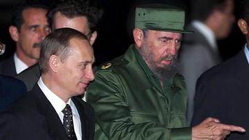 """Putin: """"wolna i niezależna Kuba"""" wywalczona przez Castro """"inspirującym przykładem dla wielu krajów i narodów"""""""