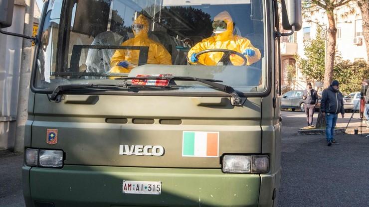 Panika we Włoszech. W ciągu doby potroiła się liczba zarażonych koronawirusem