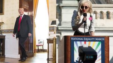 Trump: osoby transpłciowe nie mogą służyć w wojsku. Lady Gaga: tymi słowami zagrażasz ich życiu