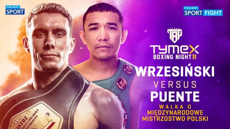 Tymex Boxing Night 11. Wrzesiński: U szczytu formy Puente mógłby walczyć o mistrzostwo świata