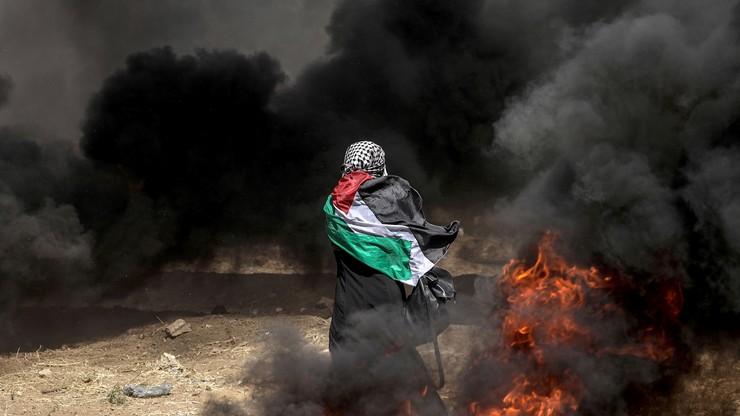 Niespokojnie w Strefie Gazy. Żałoba, pogrzeby i kolejne ofiary wśród Palestyńczyków