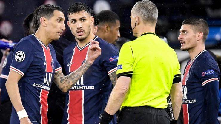 """Liga Mistrzów: Paryżanie narzekają na sędziego. """"Dwa razy powiedział mi pie**** się"""""""