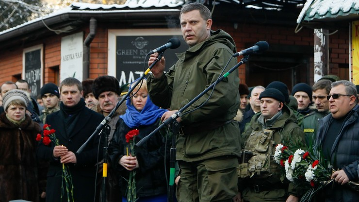 Ukraina: nie żyje przywódca prorosyjskich separatystów. Putin: to nikczemne zabójstwo